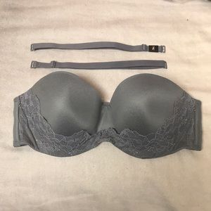 Strapless Victoria's Secret bra